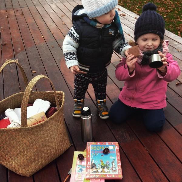 Veronika a knižkový piknik