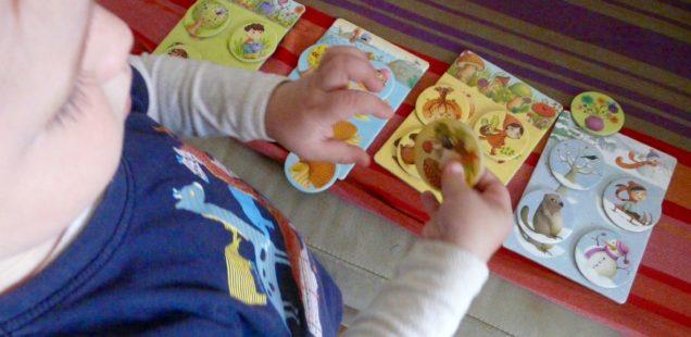 Djeco: 4 ročné obdobia